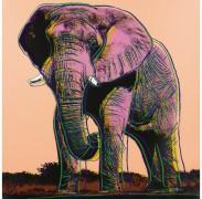 Африканский слон - Уорхол, Энди
