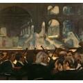 Сцена из балета «Роберт-Дьявол» по опере Джакомо Мейербера - Дега, Эдгар