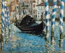 Большой канал в Венеции - Мане, Эдуард