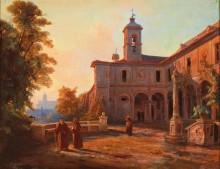 Терраса монастырской церкви святого Онуфрия в Риме - Айххорн, Альберт