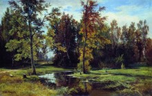 Березовый лес, 1871 - Шишкин, Иван Иванович
