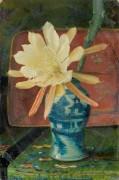 Натюрморт с китайской вазой - Гримшоу, Джон Аткинсон