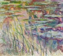 Рефлексы на поверхности воды - Моне, Клод