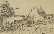 Дома в Сан-Мари-де-ла-Мер (Houses in Les Saintes-Maries-de-la-Mer), 1888 - Гог, Винсент ван