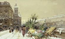Цветочный рынок - Гальен-Лалу, Эжен