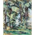 Высокие деревья в Жа де Буффан - Сезанн, Поль