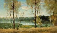 Озеро Жан-Жака Руссо в Эрменонвиле - Хиттусси, Антонин