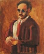 Автопортрет. 1936 - Ротко, Марк