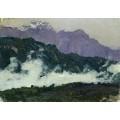 Альпы. 1897 - Левитан, Исаак Ильич
