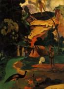 Пейзаж с павлином, 1892 - Гоген, Поль
