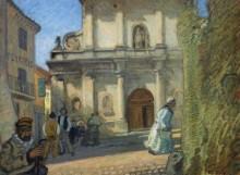 Церковь в Авиньоне - Дюфи, Рауль