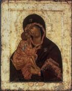 Икона Б.М. Донская (1392) - Феофан Грек