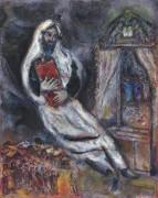 Еврей с торой - Шагал, Марк Захарович