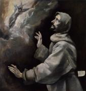 Святой Франциск, получающий стигматы - Греко, Эль