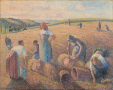 Сборщицы колосьев - Писсарро, Камиль