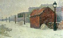Снег на Монмартре - Синьяк, Поль