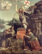 Воскресение Христа со святыми Леонардом и Лючией - Оджоно, Марко д'