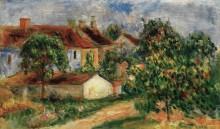 Сельские дома с красными крышами - Ренуар, Пьер Огюст