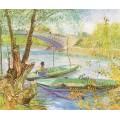 Рыбалка весной - Гог, Винсент ван