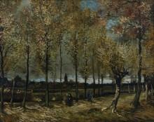 Дорожка с тополями (Lane with Poplars), 1885 - Гог, Винсент ван