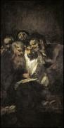 Читающие мужчины (черные картины) - Гойя, Франсиско Хосе де