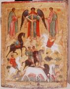 Святые Флор и Лавр, Новгородская школа, 15 век, 67х52