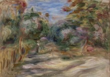 Лесной пейзаж - Ренуар, Пьер Огюст