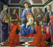 Алтарь святого Амвросия - Боттичелли, Сандро