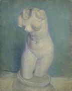 Гипсовый женский торс (Plaster-Torso (female), 1886 - Гог, Винсент ван