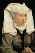 Портрет молодой женщины -  Вейден, Рогир ван дер