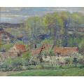 Дом художника весной, 1909-11 -  Бюхр, Карл Альберт