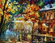 Дождливая ночь - Афремов, Леонид (20 век)