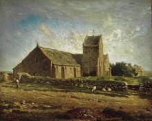 Церковь в Гревиле - Милле, Жан-Франсуа