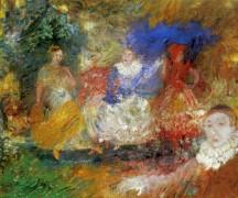 Балерины, 1896 - Энсор, Джеймс