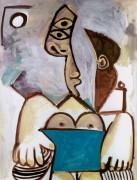 Сидящая обнаженная, 1971 - Пикассо, Пабло