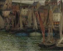 Лодки в Трепор, 1906 - Сиданэ, Анри Эжен Огюстен Ле