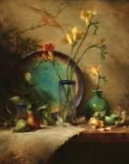 Бирюза и зелень - Ридель, Давид