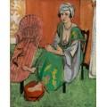 Зеленое платье - Матисс, Анри