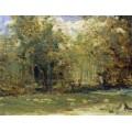 Весенний лес. 1880-90 - Левитан, Исаак Ильич