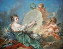 Аллегория живописи - Буше, Франсуа