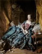 Портрет маркизы Помпадур - Буше, Франсуа