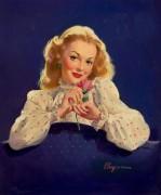 Девушка с розой - Элвгрен, Джил