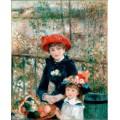 Две сестры (на террасе) - Ренуар, Пьер Огюст