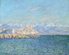 Антиб, послеполуденный эффект, 1888 - Моне, Клод