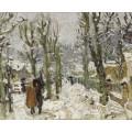 Снежный пейзаж (Snowy Landscape) - Монтезен, Пьер-Эжен