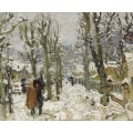 Снежный пейзаж (Snowy Landscape) - Монтезин, Пьер Эжен