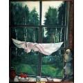 Окно на даче - Шагал, Марк Захарович