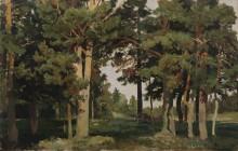Лес, 1893 - Шишкин, Иван Иванович