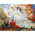 Несчастья святого Антония, 1909 - Энсор, Джеймс