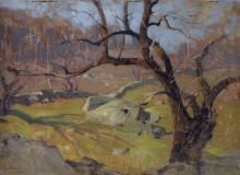 Пейзаж близ Ялты. 1886 - Левитан, Исаак Ильич